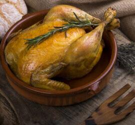 Ingredientes mágicos para el pollo rústico manchego.