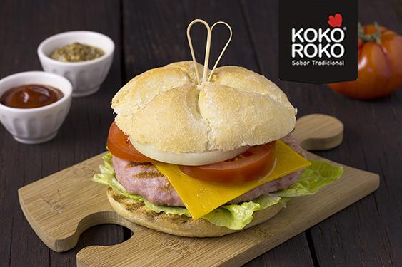Las hamburguesas de 100%Pollo se convierten en el producto líder de ventas de elaborados