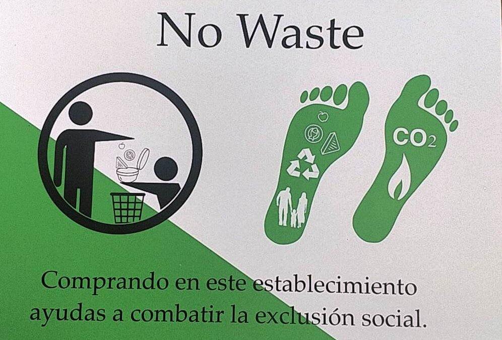 PAASA COLABORA CON NO WASTE POR UN COMERCIO MÁS SOLIDARIO Y SOSTENIBLE